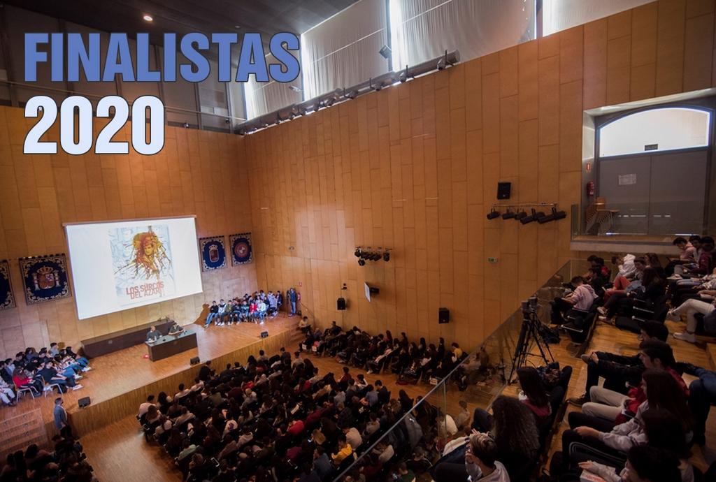Banner Finalistas 2020 Premio Mandarache