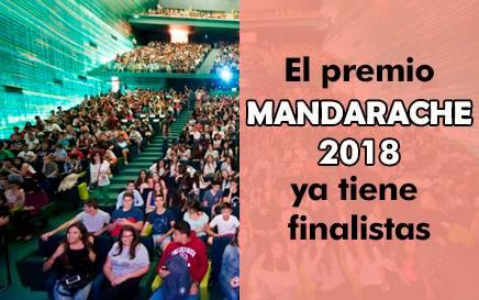 Finalistas Premio Mandarache/Hache 2018